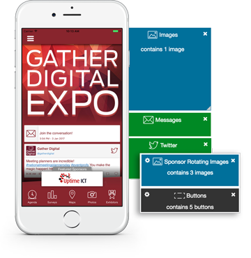 Choose a flexible event app for your organization